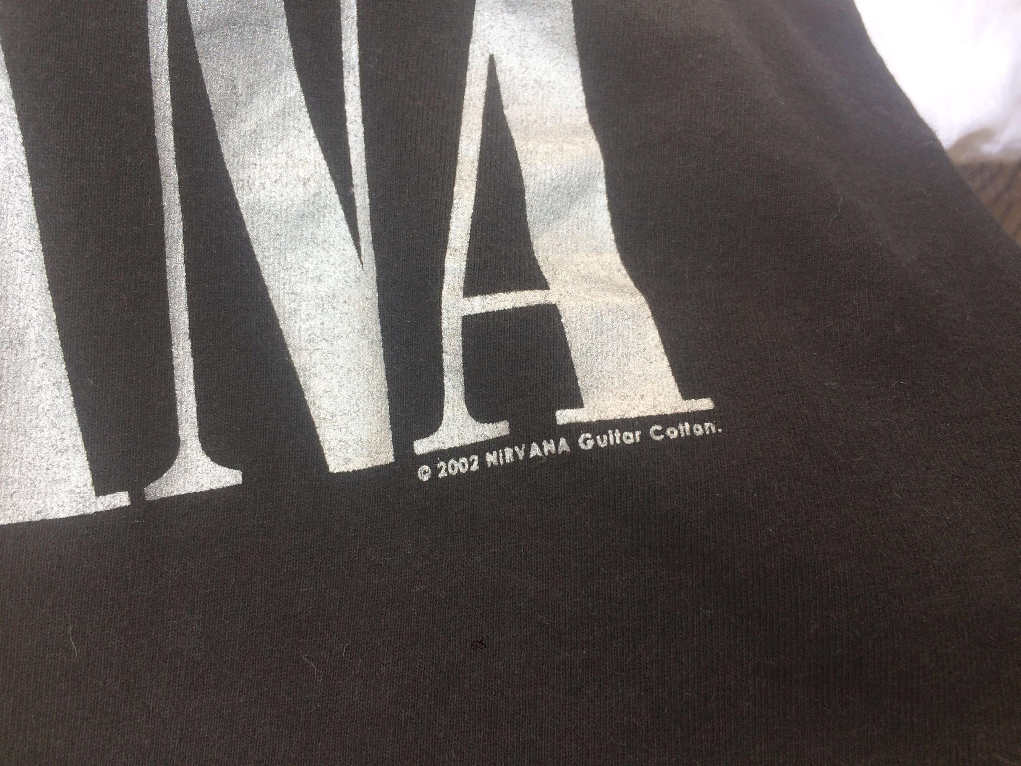 Nirvana raglan tee 'i hate my self i want to die'
