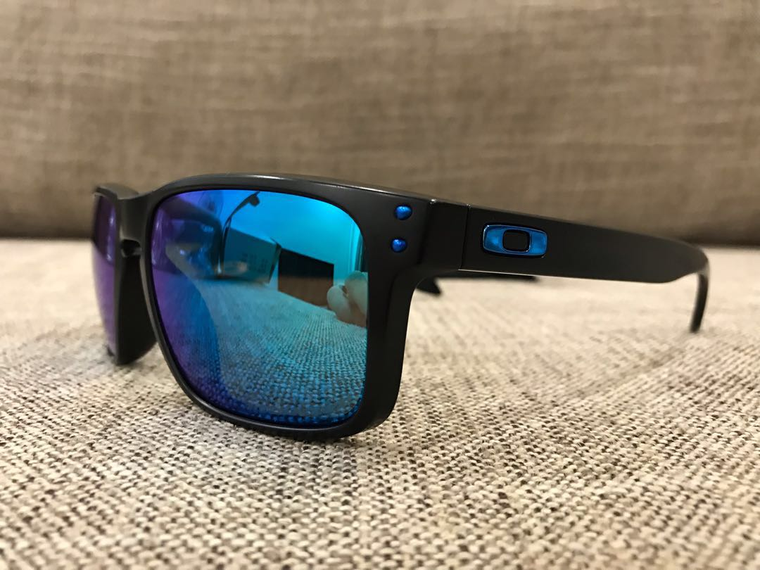 fb46985ead Oakley™ HOLBROOK Asian Fit (Matte Black Sapphire Iridium Polarized ...