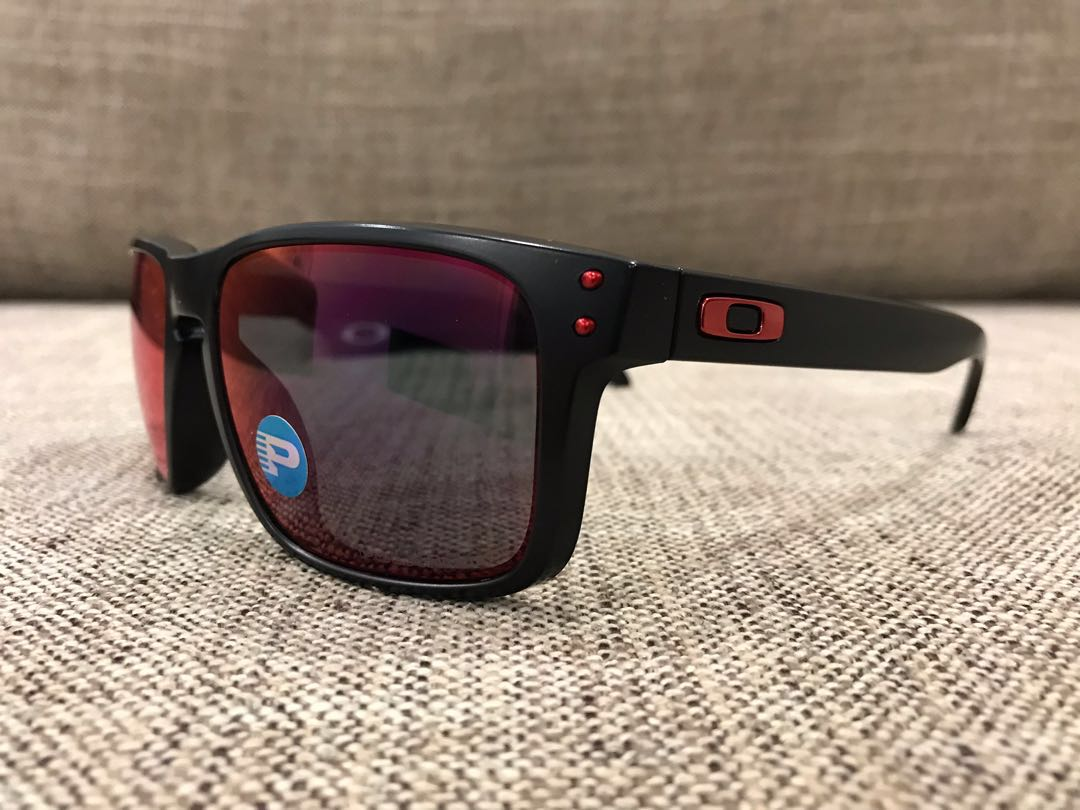 a4548c1884a Oakley™ HOLBROOK Asian Fit (Matte Black Torch Iridium Polarized ...