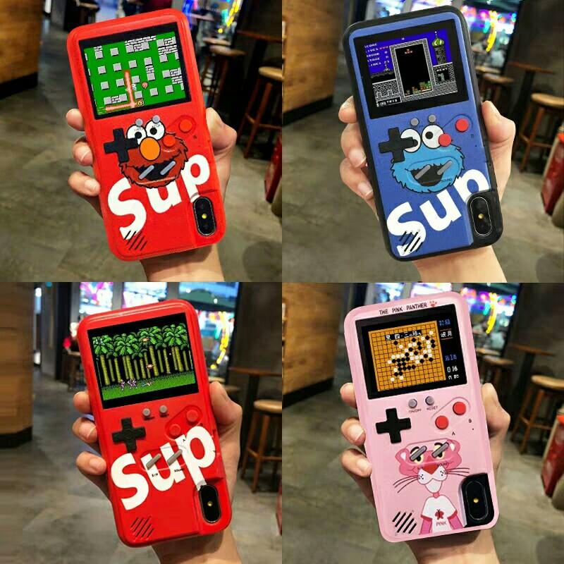 half off dae2f 6c01a Oppo iPhone Retro Gameboy Case