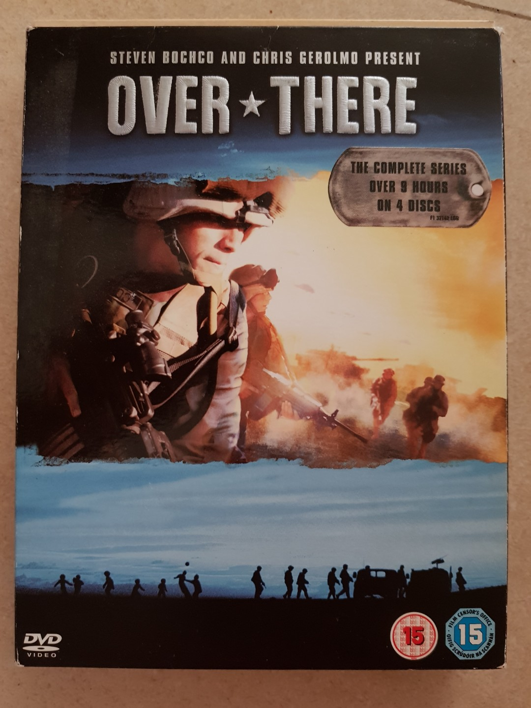 Over there TV series complete