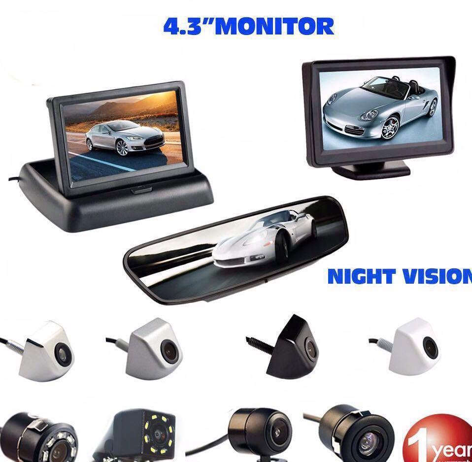 Ebay Motors Exterior Self-Conscious 4 Ir Light Car Reverse Rear View Camera Night Vision Wide Angle Waterproof