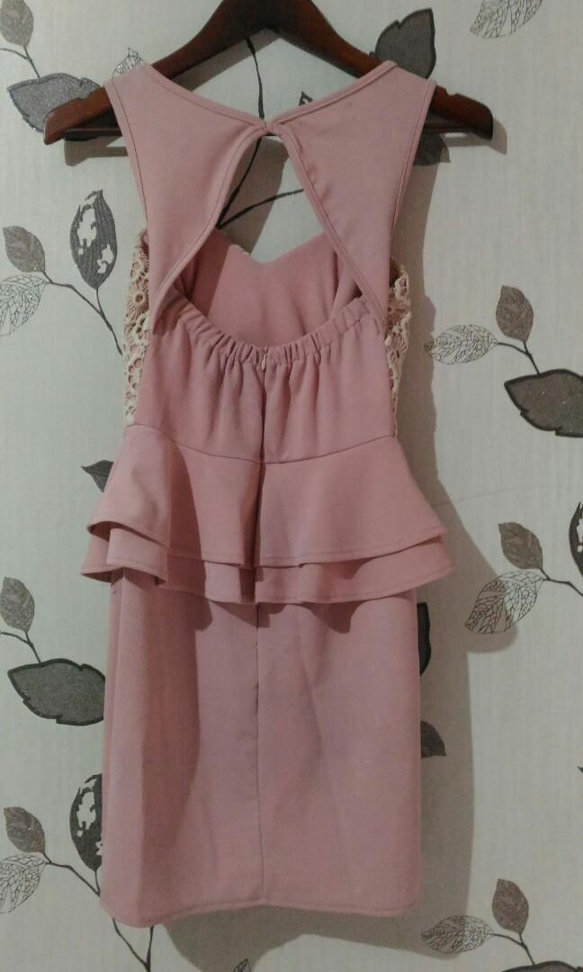 Reprice Sleeveless Mini Dress