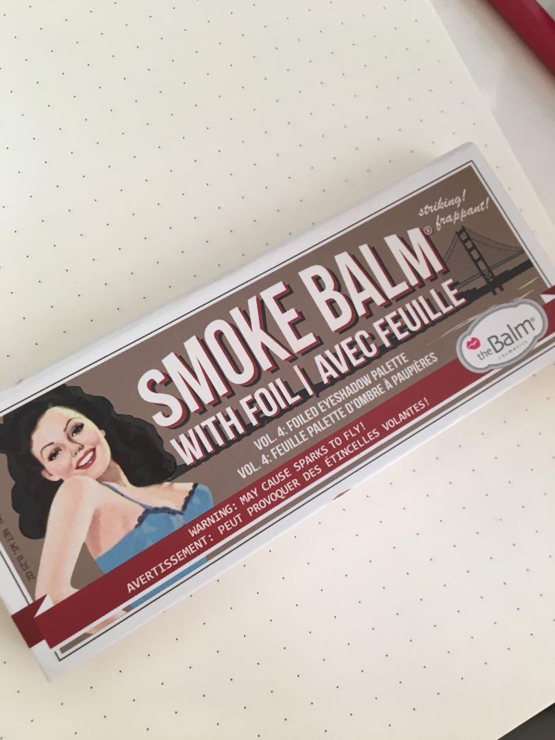 The balm - Smoke balm eyeshadow palette