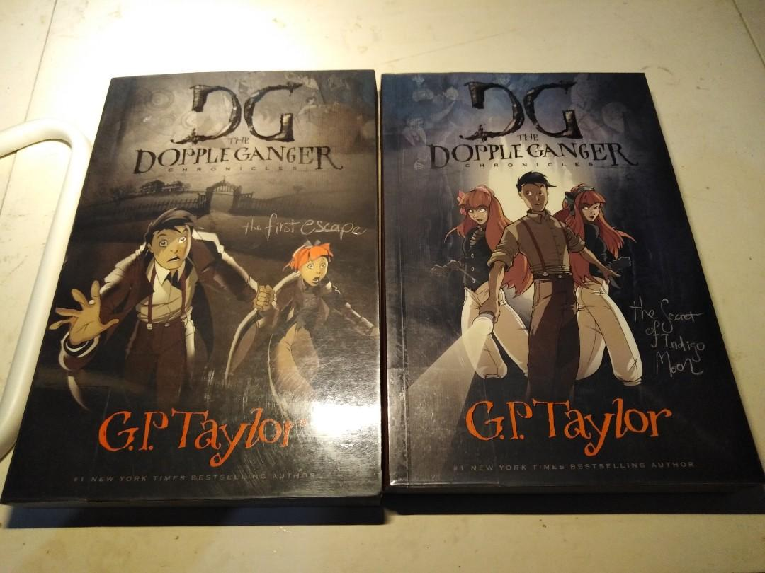 The DoppelGanger Chronicles by G.P. Taylor (Books 1 and 2)