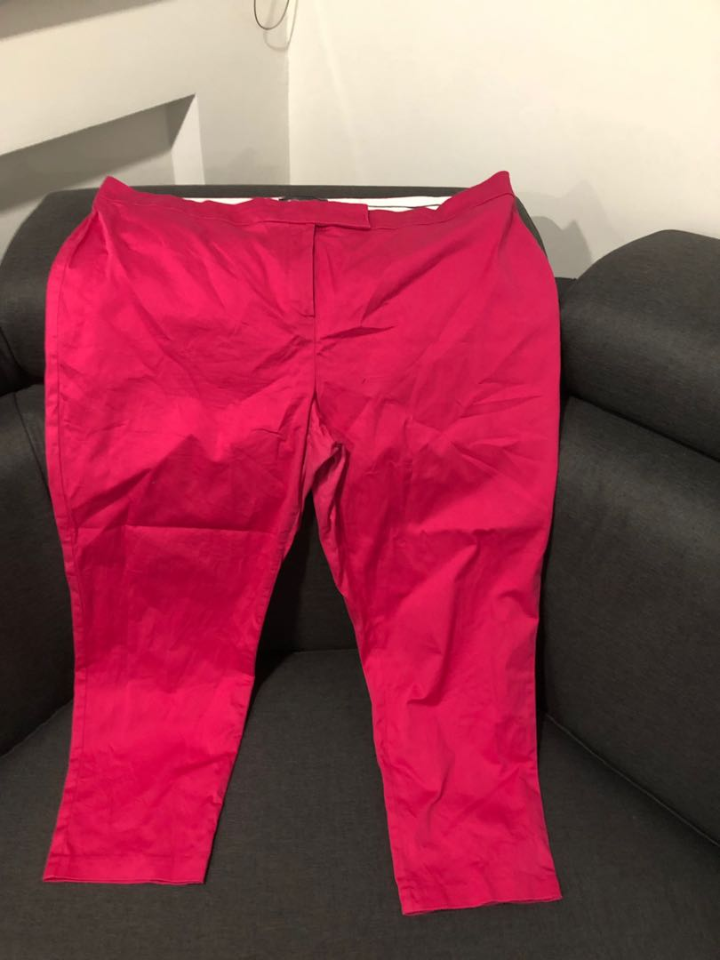 9a37991927a93 UK20 Hot Pink Marks   Spencer Pants