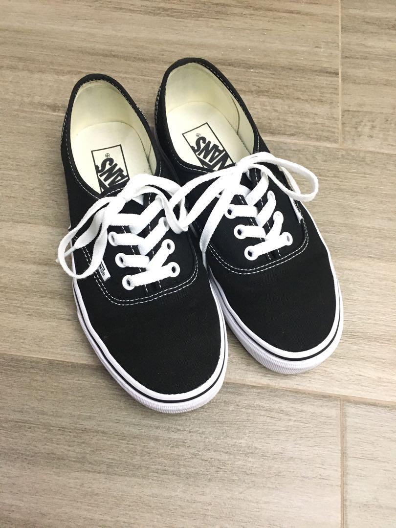 Vans鞋 女裝 Classic黑白款
