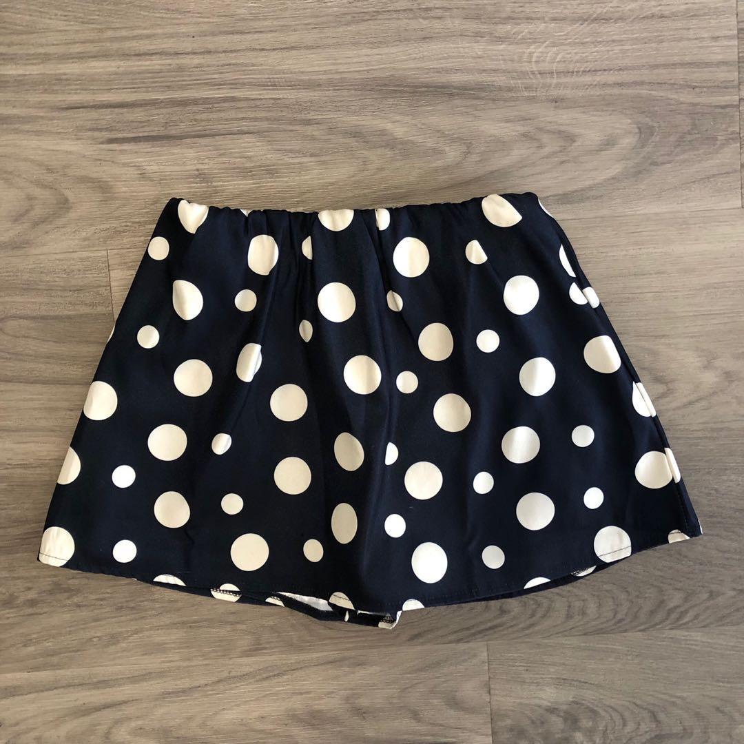 Verge Girl Polka Dot Skirt/Skort