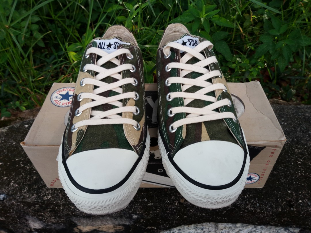 ff9685d4d6e593 Vintage Converse all star made in usa 90s