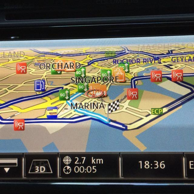 Volkswagen (VW) / Skoda Rns510 / Columbus Navigation GPS Map