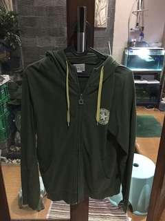 Converse zipper jacket