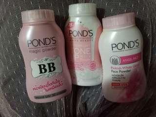 Free OngkirPaket Bedak Ponds Powder (Original)