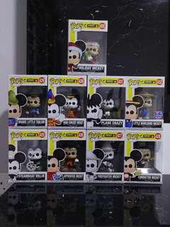 Funko Pop - Mickey 90th Year (Set of 9)