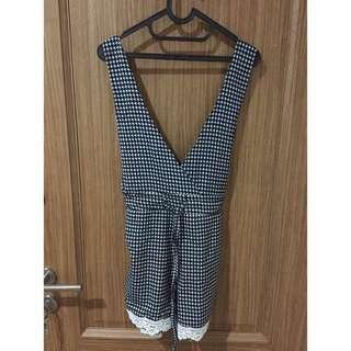 Jumpsuit monochrome