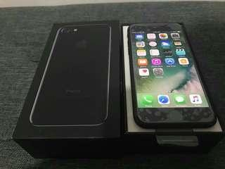 Apple Iphone 7 256GB Jet Black Complete Globe locked