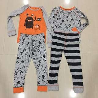 Preloved Mothercare Interchangeable Pajamas 5 years up