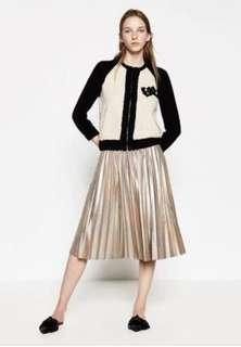 NEW WITH TAG Zara Pleated Skirt
