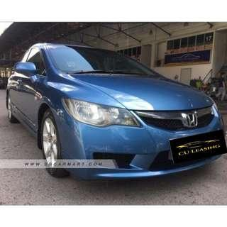 SUPER LOW MILEAGE HONDA CIVIC 1.6M FOR GRAB & GOJEK