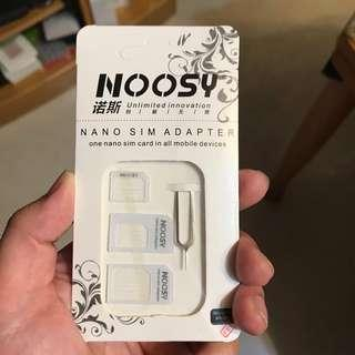 Nano sim card adaptor