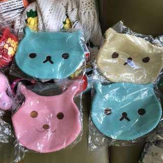 Bunny cat rabbit cute netted netting laundry bag craftholic intimates underwear shirt wash