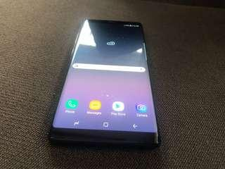 samsung galay note 8 64gb black duos openline