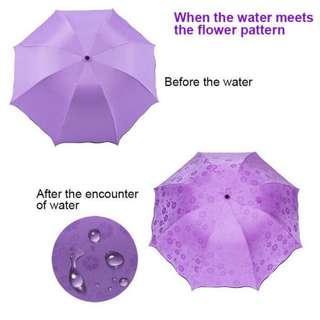 magic blossom flowers UV umbrella(DM)