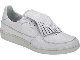 Onitsuka tiger leather white GSM size US 5