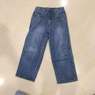 Preloved Mothercare Long Jeans Denim Pants 4 years up