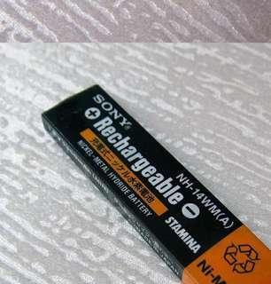 sony磁帶機.口香糖電池鋼印版 NH-14WM