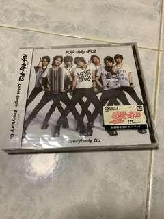 Kis-My-Ft2's Debut Single - Everybody Go (RE)