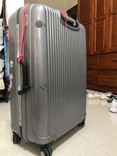 二手行李箱 26吋 CROWN C-FA036 旅行 硬殼