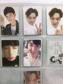 [WTS] HUGE EXO PHOTOCARDS CLEARANCE!