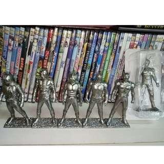 Kamen Rider Statue Set of 6
