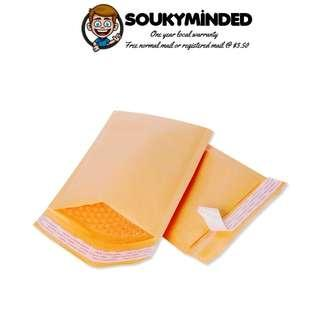 [IN-STOCK] 10 Pieces of Padded Envelopes Kraft Bubble Cushioned Mailers Bubble Envelopes Pack, Shipping Envelopes Bags (10.5x16 Inches) (27x40 cm)
