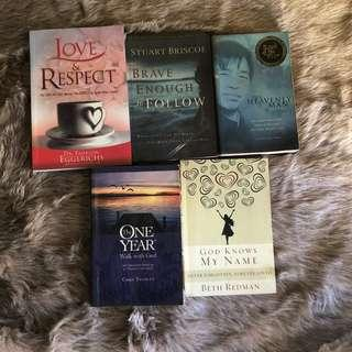 Christian Books bundle