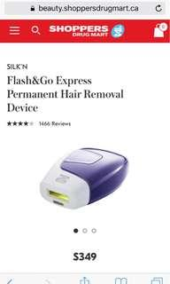Silk'n Laser Hair Removal