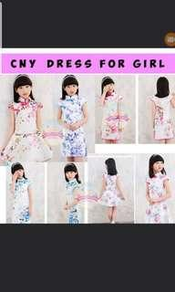 CNY pretty dress for girl