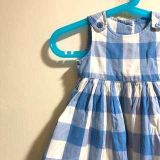 Mothercare checkered summer dress