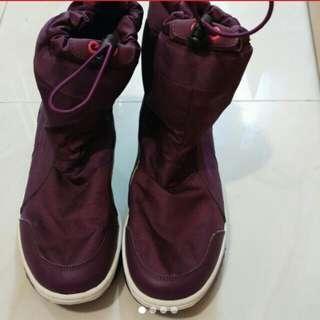 Puma 紫色高筒波鞋