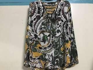 Zara Colorful Blouse