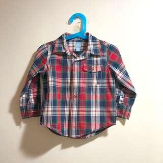 Baby Gap checkered shirt