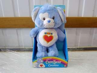 BNIB Carebear Cousins Loyal Heart Dog Plush Stuffed Toy
