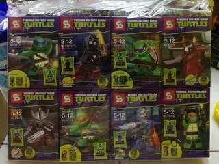 Teenage Mutant Ninja Turtles Minifigures