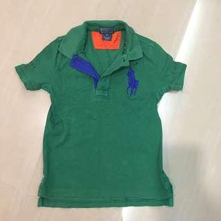 Preloved Authentic Polo Ralph Lauren Tee shirt 5 years up