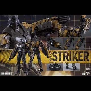 全新 Hot toys Iron Man Mark XXV 25 Striker MMS277 鐵甲奇俠