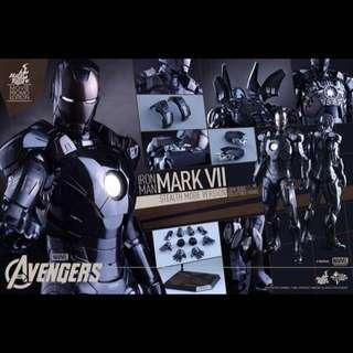 全新啡盒未開 Hot Toys The Avengers Mark VII (Stealth Mode Version) MMS282 特別版