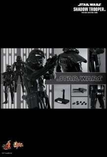 全新啡盒未開 Hot Toys Star Wars Shadow Trooper MMS271 星球大戰 白兵 特別版