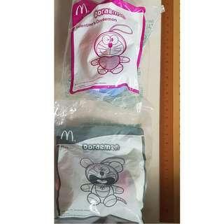 Macdonal Doaremon soft toys