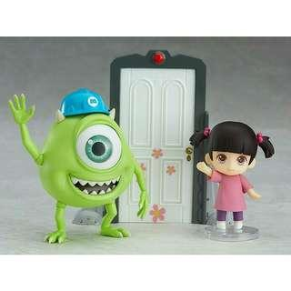 Monsters Inc Mike and Boo Nendoroid Happy Smile