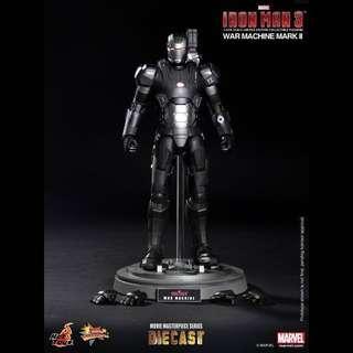 全新啡盒未開 Ironman 3 War Machine Mark II MMS198 2.0 合金